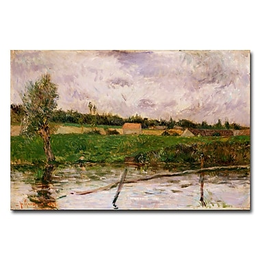Trademark Fine Art Paul Gauguin 'Brittany Countryside' Canvas Art