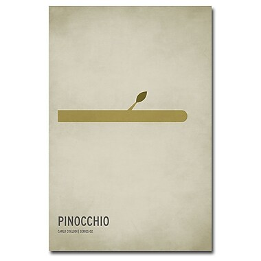 Trademark Fine Art Christian Jackson 'Pinocchio' Canvas Art