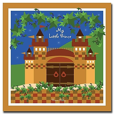 Trademark Fine Art My Little Prince by Grace Riley-Canvas Art