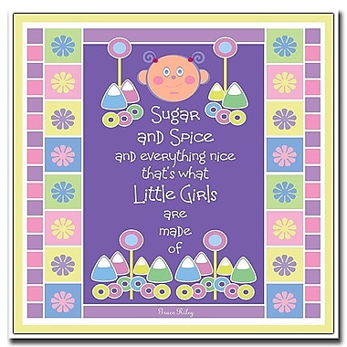 Trademark Fine Art Sugar & Spice by Grace Riley-Canvas Art Ready to Hang