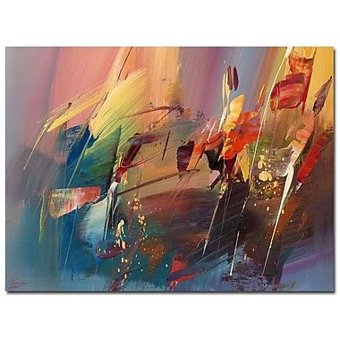 Trademark Fine Art Ricardo Tapia 'Garden' Canvas Art