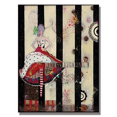 Trademark Fine Art Alexandra Rey 'Meet Flowers' Canvas Art