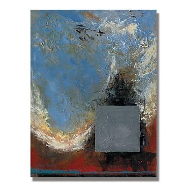 Trademark Fine Art Alexandra Rey 'The Attac of the Crow II' Canvas Art