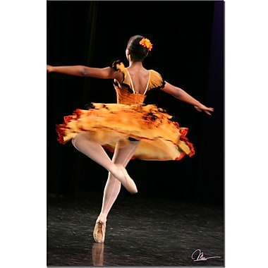 Trademark Fine Art Martha Guerra 'Ballerina' Canvas Art
