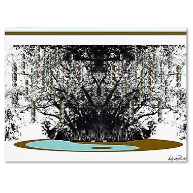 Trademark Fine Art Miguel Paredes 'Budda' Canvas Art