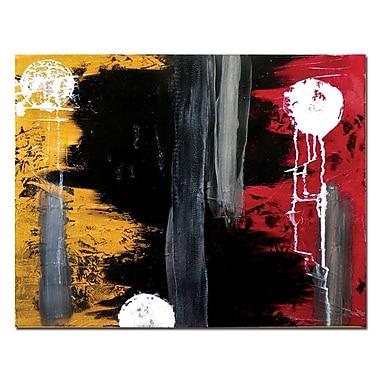 Trademark Fine Art Hurt by Nicole Dietz-18x22 Canvas Ready to Hang