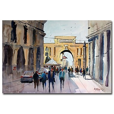 Trademark Fine Art Ryan Radke 'Italian Impressions IV' Canvas Art