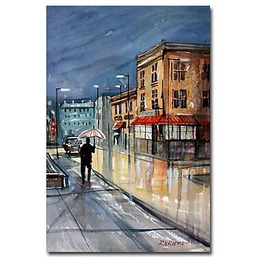 Trademark Fine Art Ryan Radke 'Night Lights Green Bay' Canvas Art