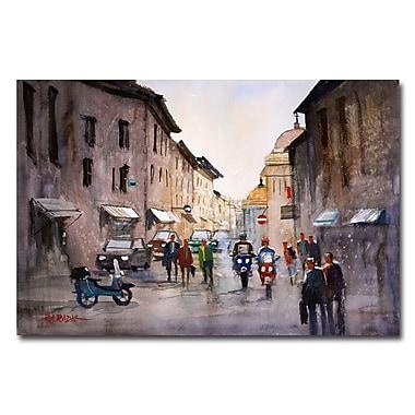 Trademark Fine Art Ryan Radke 'When in Rome' Canvas Art