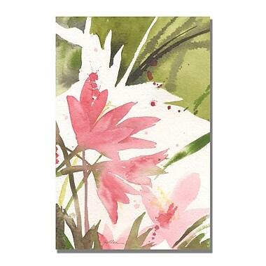 Trademark Fine Art Shelia Golden 'The Appearance of Spring' Canvas Art