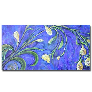 Trademark Fine Art Wendra 'Yellow Tulips' Canvas Art
