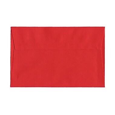 JAM Paper®Open End Translucent Vellum Envelopes with Gum Closures 5