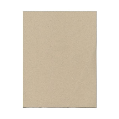 JAM PaperMD – Papier cartonné recyclé de format passeport, 8-1/2 x 11 po, grès