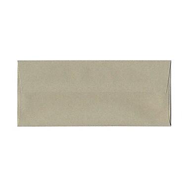 JAM PaperMD – Enveloppes format passeport en papier recyclé avec fermetures gommées, 4 1/8 x 9 1/2 po, vert sauge