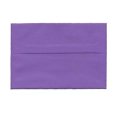 JAM Paper® Booklet Brite Hue Recycled Envelopes with Gum Closures, 4 3/4