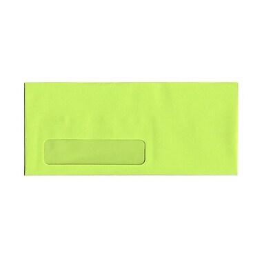 JAM Paper® Window Booklet Brite Hue Envelopes with Gum Closure, 4-1/8