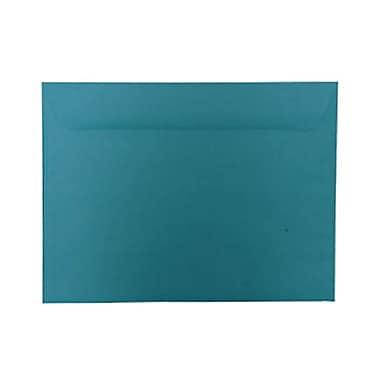 JAM PaperMD – Enveloppes lisses de teinte claire en papier recyclé de format invitation, 9 po x 12 po, bleu de mer