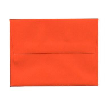 JAM Paper® Booklet Brite Hue Recycled Envelopes with Gum Closures, 3-5/8