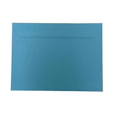 JAM PaperMD – Enveloppes lisses de teinte claire en papier recyclé de format invitation, 9 po x 12 po, bleu