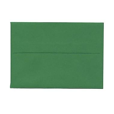 JAM PaperMD – Enveloppes recyclées couleurs vives format livret à fermeture gommée, 3 5/8 x 5 1/8 po, vert festif