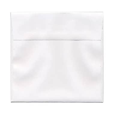 JAM PaperMD – Enveloppes recyclées en papier parchemin format livret à fermeture gommée, 6 x 9 1/2 po, vert