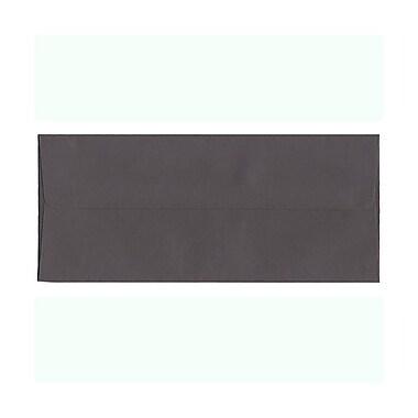 JAM PaperMD – Enveloppes format invitation avec fermeture gommée, 4 1/8 x 9 1/2 po, gris foncé