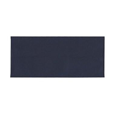 JAM PaperMD – Enveloppes format livret à fermeture gommée, 4 1/8 po x 9 1/2 po, bleu marine