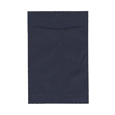 JAM PaperMD – Enveloppes à ouverture au sommet et à fermeture gommée, 6 po x 9 po, bleu marine