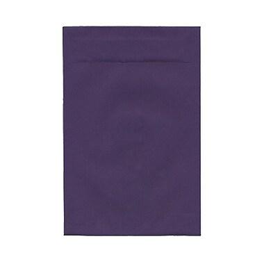 JAM PaperMD – Enveloppes à ouverture au sommet avec fermeture gommée, 6 x 9 po, violet foncé