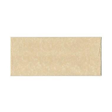 JAM PaperMD – Enveloppes en papier parchemin recyclé, format livret à fermeture gommée, 4 1/8 po x 9 1/2 po, brun