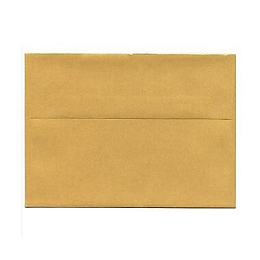 JAM PaperMD – Enveloppes livret Stardream fini métallique avec fermetures gommées, 5 1/4 x 7 1/4 po, couleur rouge Jupiter