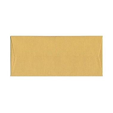 JAM PaperMD – Enveloppes livret Stardream fini métallique avec fermetures gommées, 4 1/8 x 9 1/2 po, doré