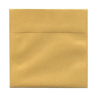 JAM PaperMD – Enveloppes carrées à rabat droit avec fermeture gommée, 8 1/2 x 8 1/2 po, rose pastel