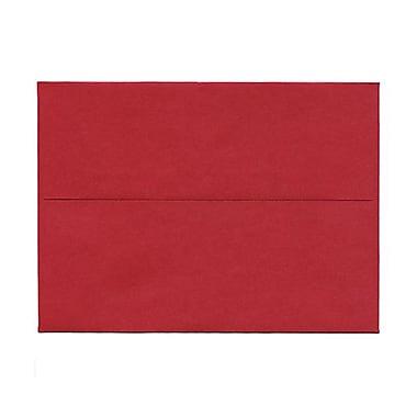 JAM PaperMD – Enveloppes carrées recyclées à partir de sacs papier kraft avec fermeture gommée, 5 -1/2 x 5 -1/2 po, brun