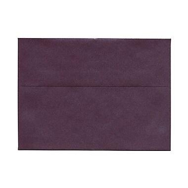 JAM Paper® Booklet Translucent Vellum Envelopes with Gum Closures 5-1/4
