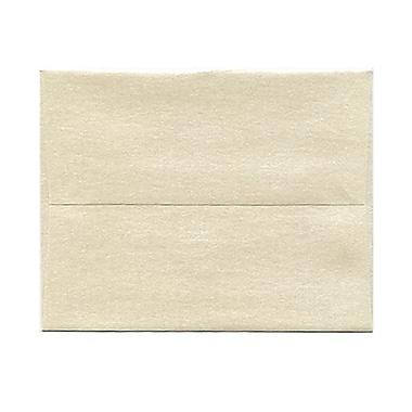JAM PaperMD – Enveloppes à brochure à fermeture gommée, papier vélin translucide, 4-3/8 x 5-3/4 po, doré