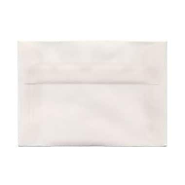 JAM PaperMD – Enveloppes à brochure à fermeture gommée, papier vélin translucide, 3-5/8 x 5-1/8 po, ton clair