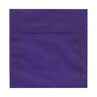 JAM PaperMD – Enveloppes recyclées couleurs vives pour invitations, à fermeture gommée, 6 x 9 1/2 po, vert festif