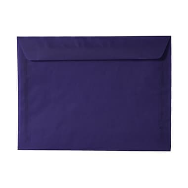 JAM PaperMD – Enveloppes pour livrets en papier vélin translucide, 9 x 12 po, bleu primaire