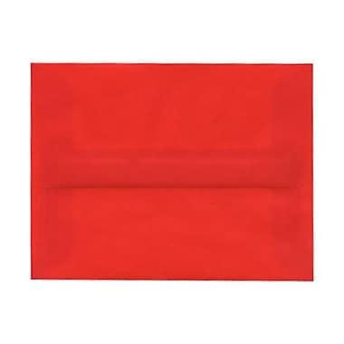 JAM PaperMD – Enveloppes Strathmore en papier vélin avec fermetures gommées, 5 1/4 x 7 1/4 po, ivoire