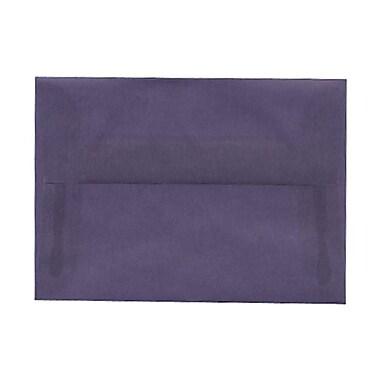 JAM PaperMD – Enveloppes à brochure à fermeture gommée, papier vélin translucide, 3-5/8 x 5-1/8 po, glycine