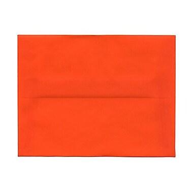 JAM PaperMD – Enveloppes recyclées format livret à fermeture gommée, 5 1/2 x 8 1/8 po, beige