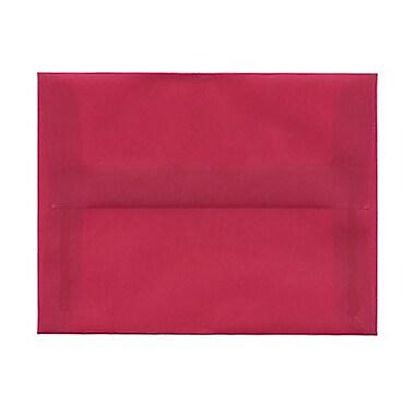 JAM PaperMD – Enveloppes à rabat droit format livret avec fermeture gommée, 5 1/2 po x 8 1/8 po, bleu aqua