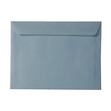 JAM PaperMD – Enveloppes pour livrets en papier vélin translucide, 9 x 12 po, bleu layette