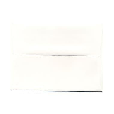 JAM PaperMD – Enveloppes à brochure Strathmore à fermeture gommée, papier vélin, 4-3/4 x 6-1/2 po, blanc lumineux