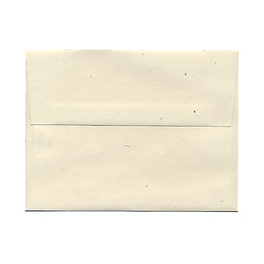 JAM PaperMD – Enveloppes en papier recyclé avec fermetures gommées, 4 3/4 x 6 1/2 po, Milkweed Genesis
