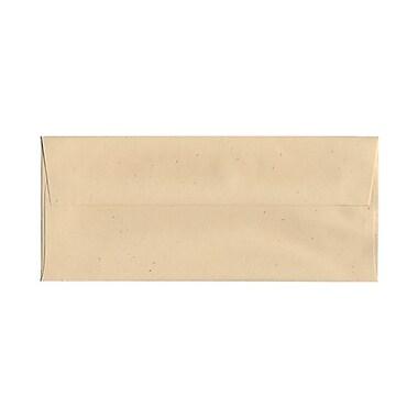 JAM PaperMD – Enveloppes en papier recyclé, 4 1/8 x 9 1/2 po, Husk Genesis