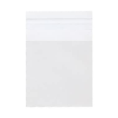 JAM PaperMD – Enveloppe d'emballage cello avec fermeture auto-adhésive, 3 1/4 x 3 1/4 po, transparent