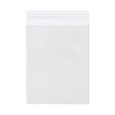 JAM PaperMD – Enveloppe d'emballage cello avec fermeture auto-adhésive, 6 7/16 x 8 1/4 po, transparent