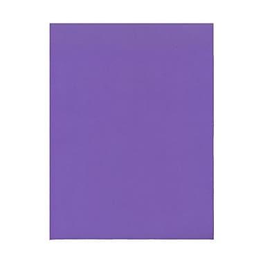 JAM PaperMD – Papier couverture cartonné Brite Hue recyclé, lisse, 8-1/2 x 11 po, violet